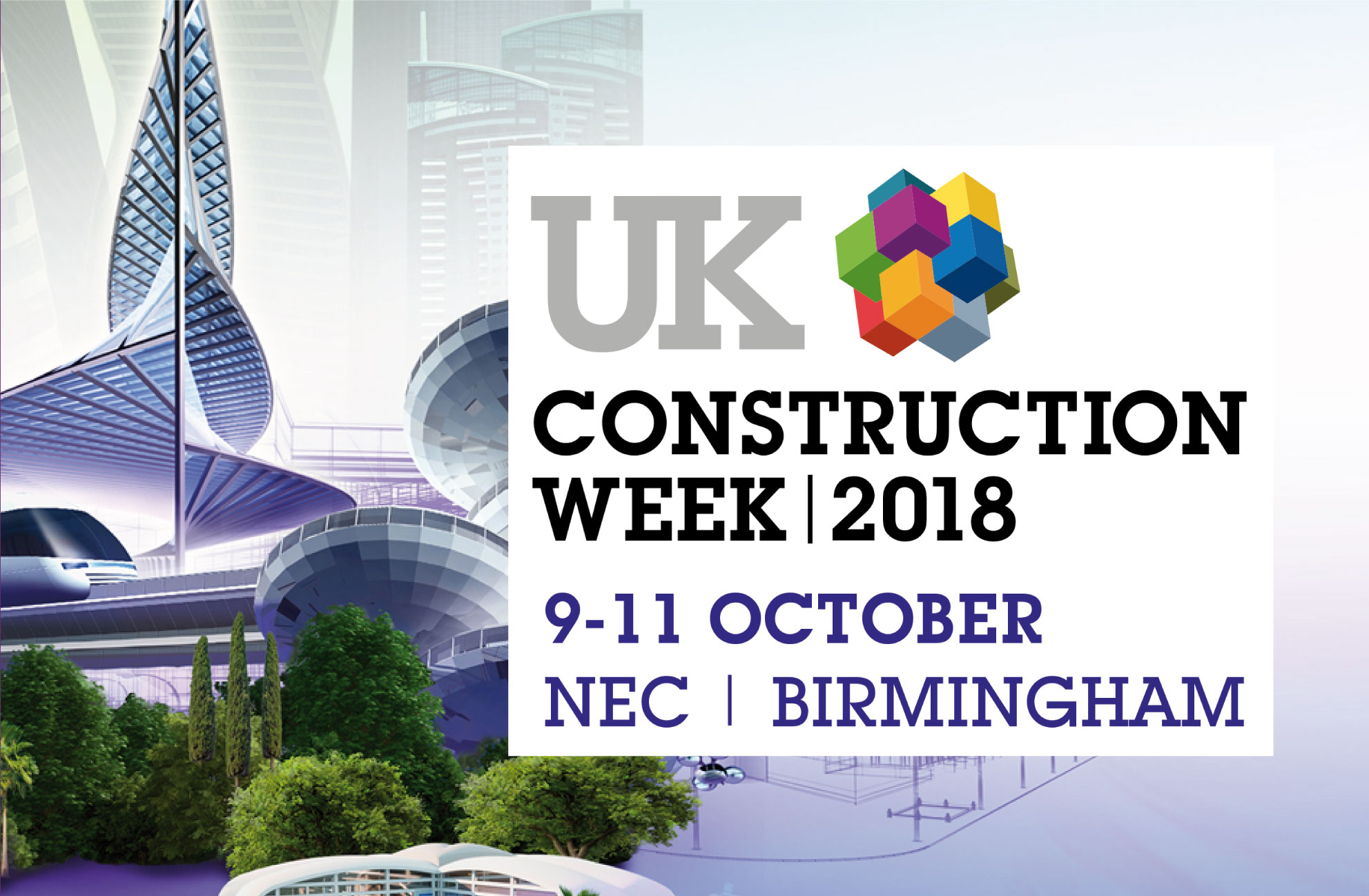 UK Construction Week 2018 logo