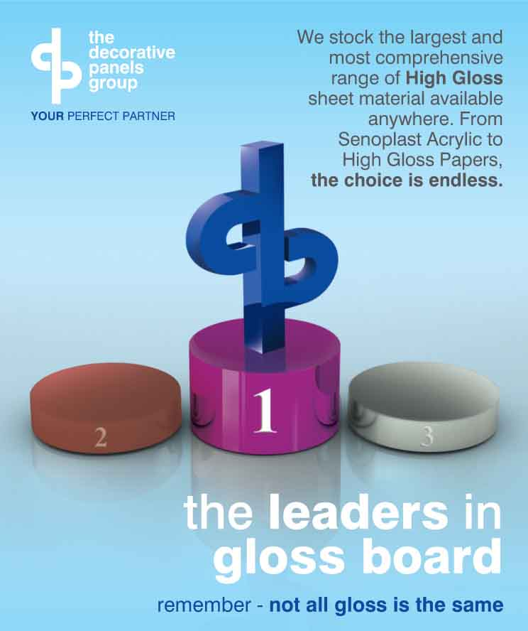 The Leaders In Gloss Board