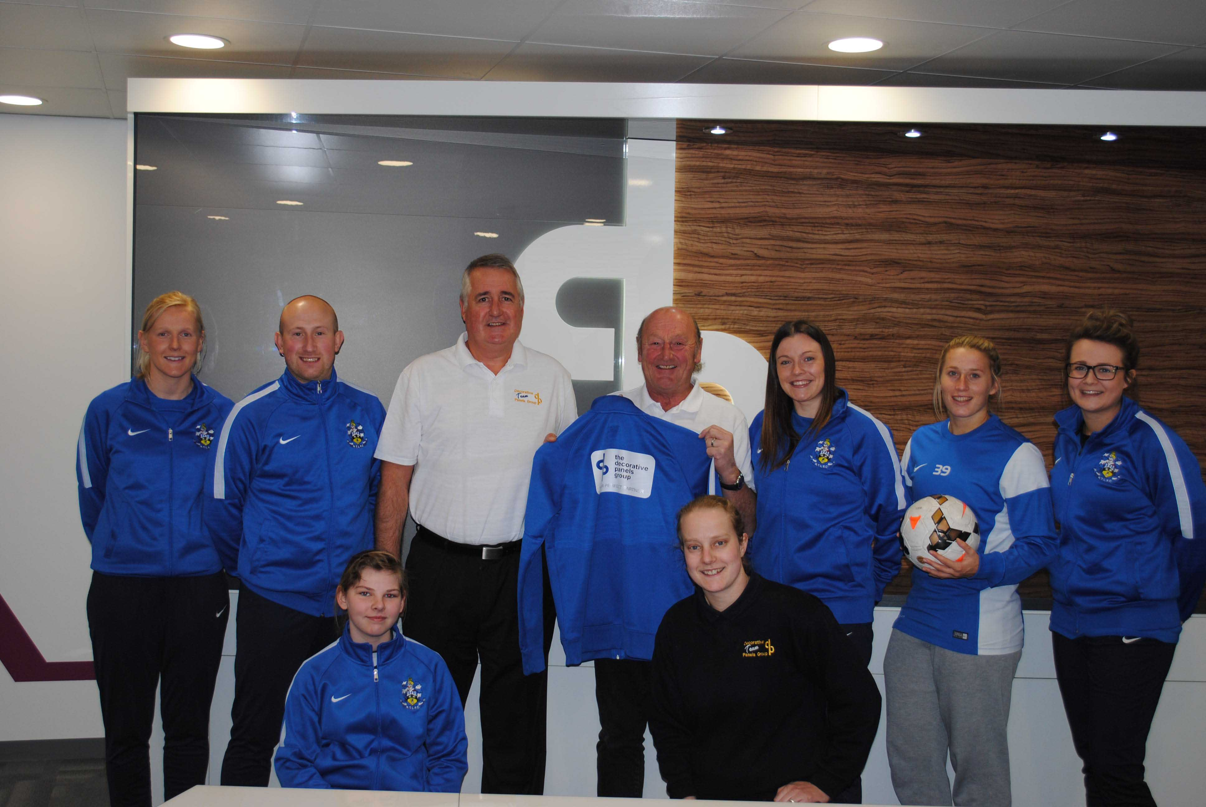dp are now proud sponsors of Huddersfield Town Ladies FC